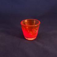 "Red ""Shot"" Glass"
