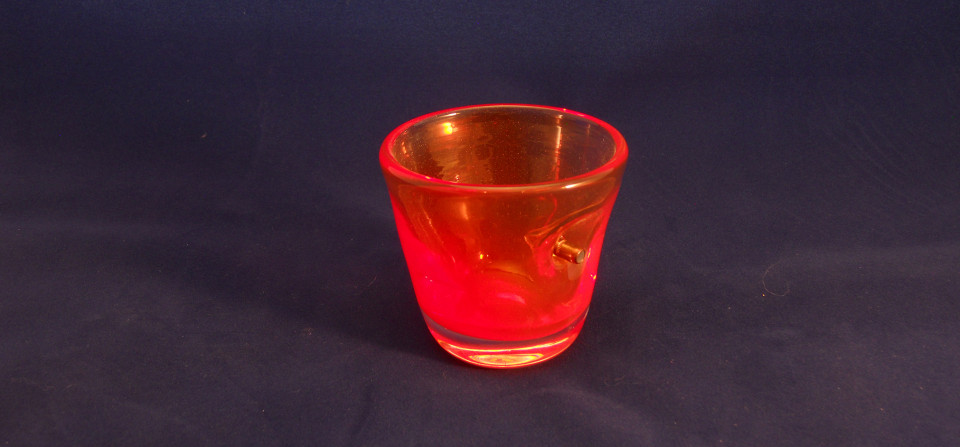 "Red ""Shot"" Glass"